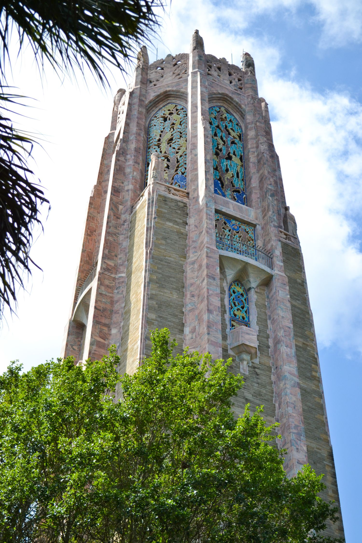 Northeast Side Of Bok Tower Florida