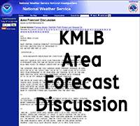 Melbourne, Florida, National Weather Service Area Forecast Discussion
