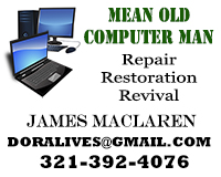 Mean Old Computer Man. Repair, restoration, revival. I'll bring your dead computer back to life, if there's any life left in it. House calls and plain talk a specialty.